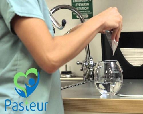 Cách lấy mẫu nước xét nghiệm